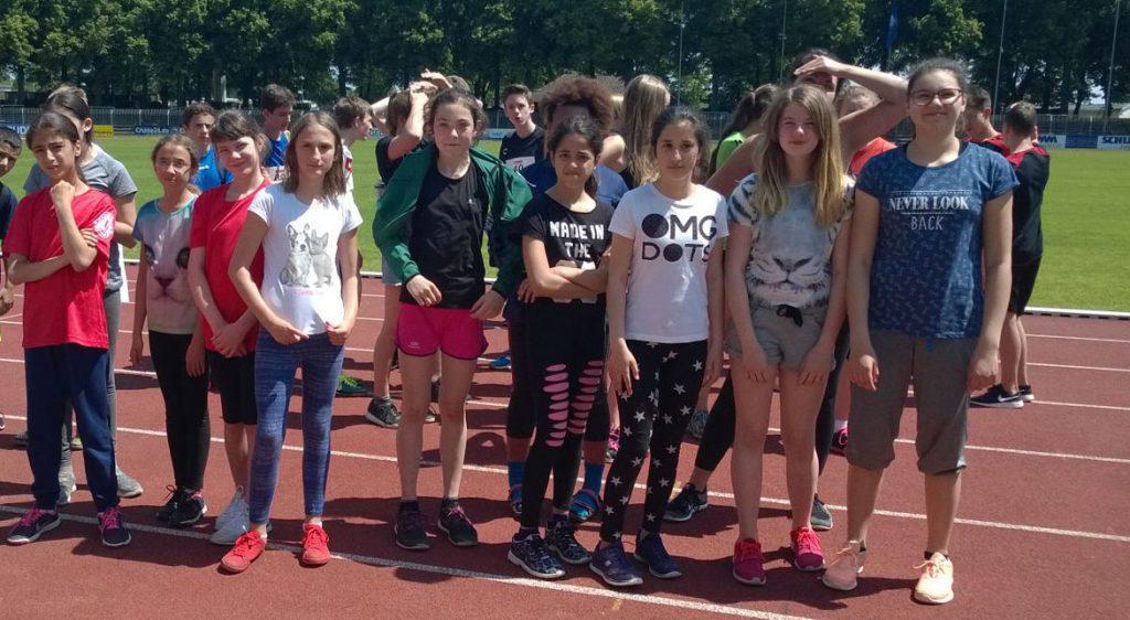 Unsere Mädchen sind Stadtmeister in der Leichtathletik
